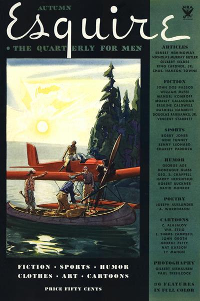 Issue: - September 1933 | Esquire