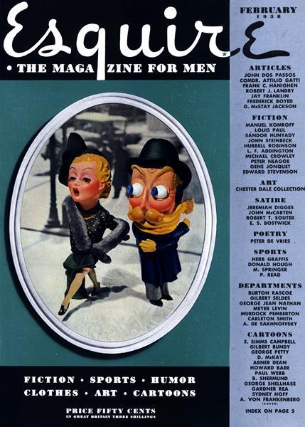 Issue: - February 1938 | Esquire