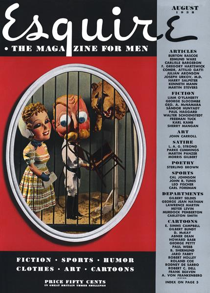 Issue: - August 1938 | Esquire