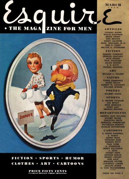 Issue: - March 1939 | Esquire