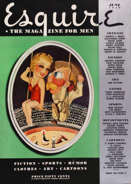 Issue: - June 1939   Esquire