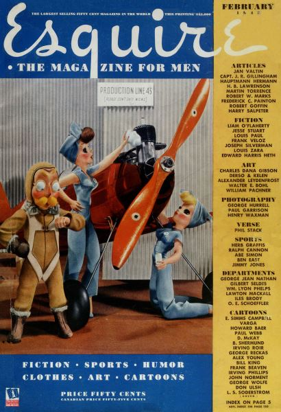 Issue: - February 1943 | Esquire