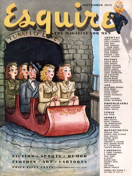 Issue: - September 1945 | Esquire