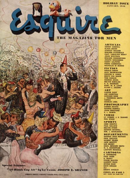 Issue: - January 1946   Esquire