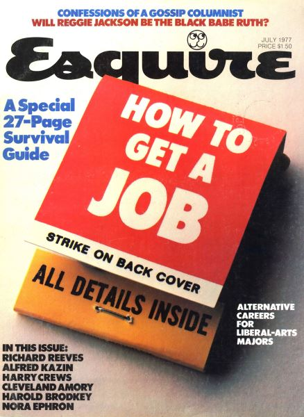 Issue: - July 1977   Esquire