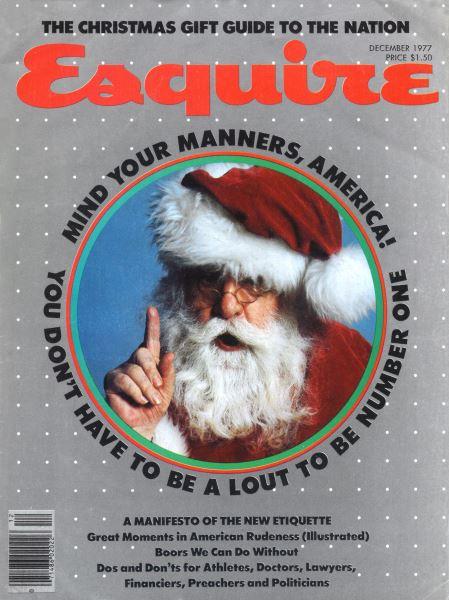 Issue: - December 1977   Esquire