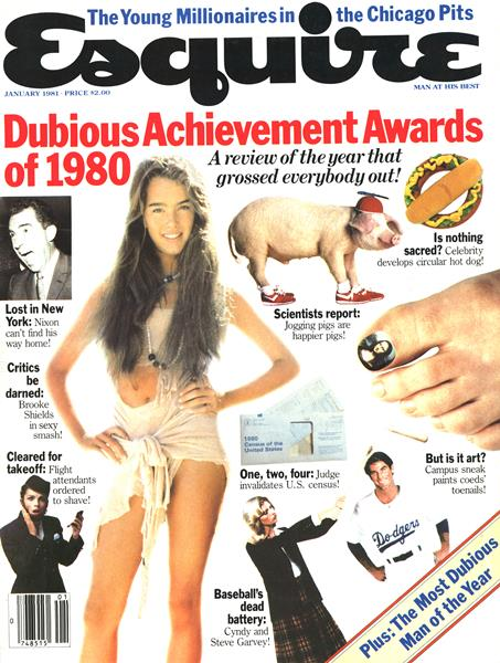 Issue: - January 1981   Esquire