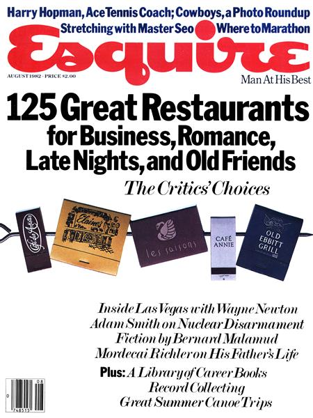 Issue: - August 1982 | Esquire