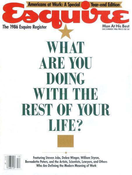 Issue: - December 1986 | Esquire