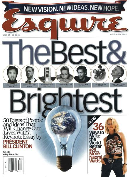 Issue: - December 2002 | Esquire