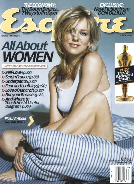 Issue: - April 2003   Esquire