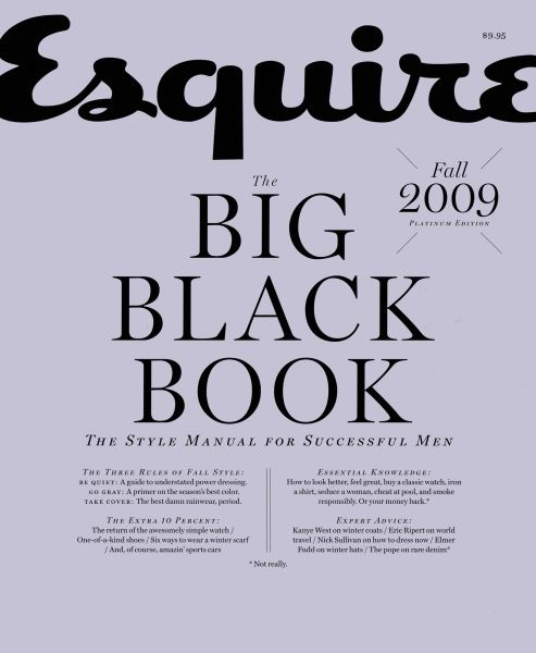 Issue: - September 2009   Esquire