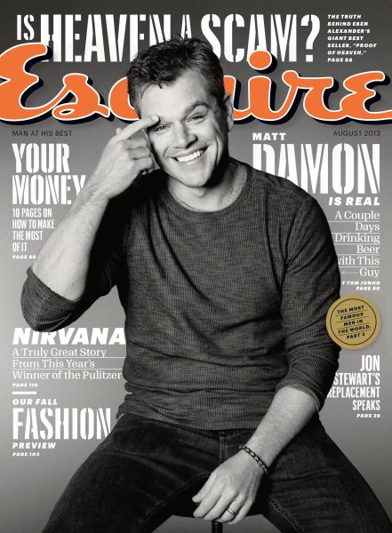 Issue: - August 2013   Esquire