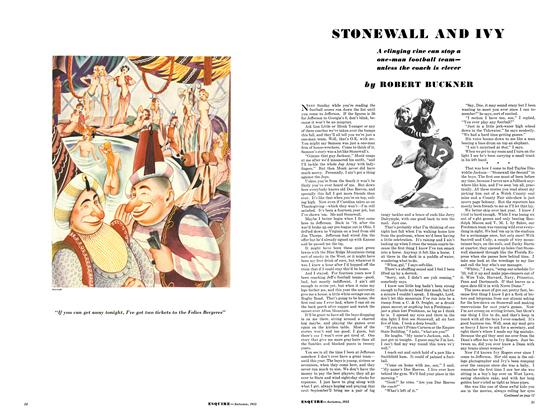 Article Preview: Stonewall and Ivy, September 1933 | Esquire