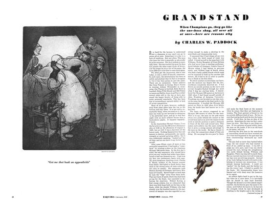Article Preview: Grandstand, September 1933 | Esquire