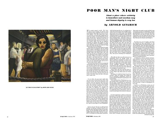 Article Preview: Poor Man's Night Club, September 1933 | Esquire