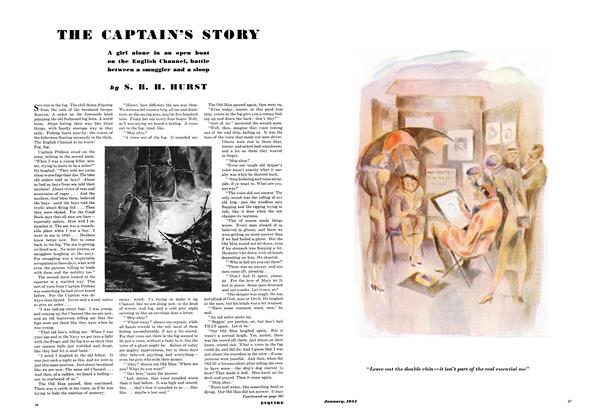 Article Preview: THE CAPTAIN'S STORY, JANUARY 1934 1934   Esquire