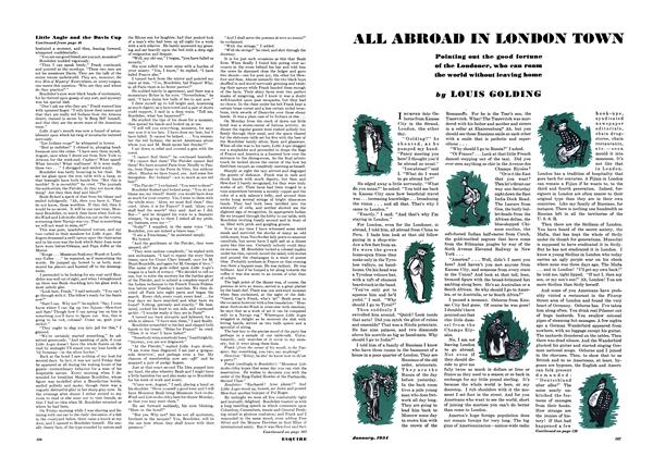 Article Preview: All Abroad in London Town, JANUARY 1934 1934 | Esquire