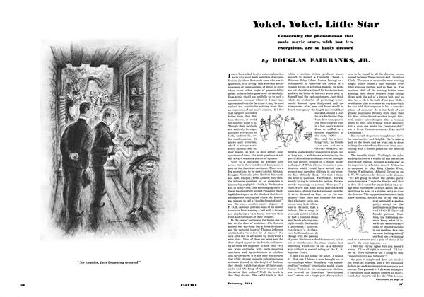 Article Preview: Yokel, Yokel, Little Star, FEBRUARY 1934 1934 | Esquire