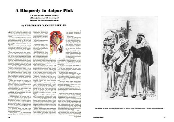 Article Preview: A Rhapsody in Jaipur Pink, FEBRUARY 1934 1934   Esquire
