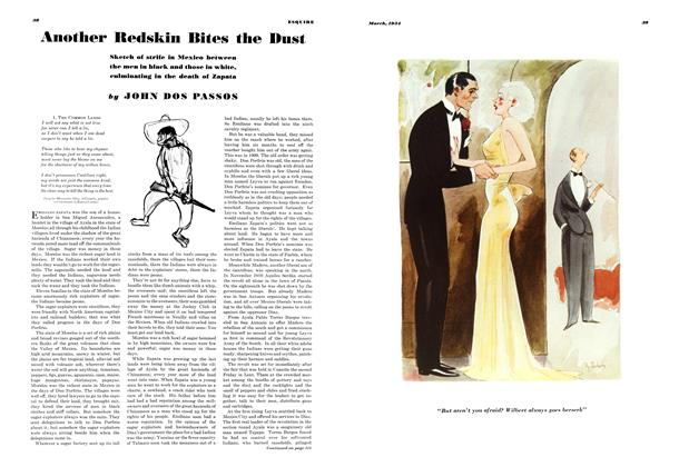 Article Preview: Another Redskin Bites the Dust, March 1934 | Esquire