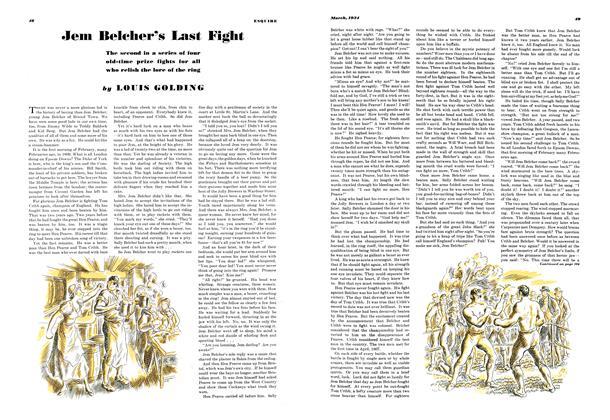 Jem Belcher's Last Fight