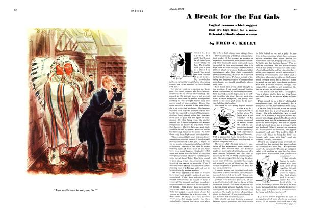 Article Preview: A Break for the Fat Gals, MARCH 1934 1934 | Esquire