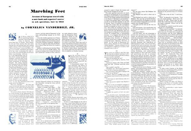 Marching Feet