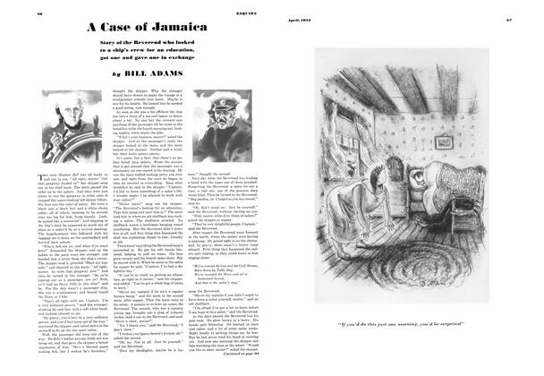 A Case of Jamaica