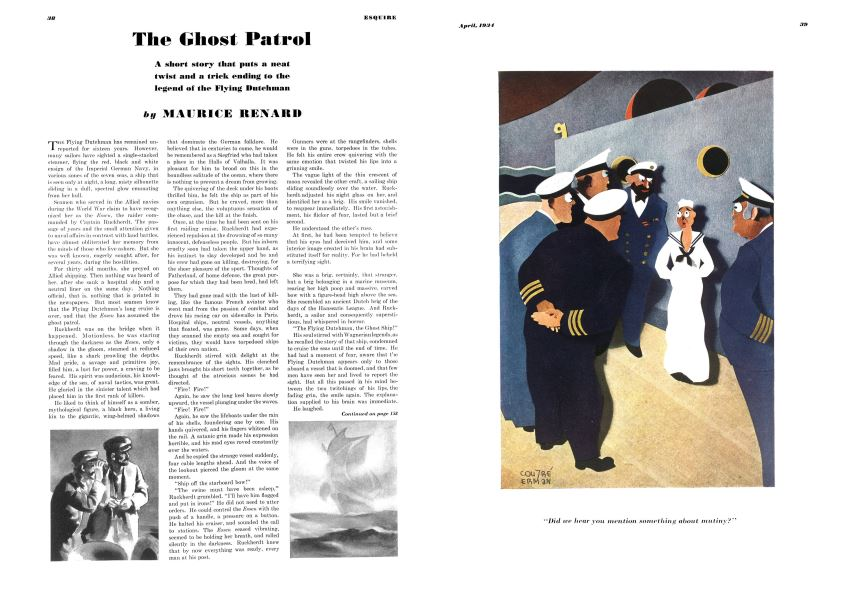 The Ghost Patrol | Esquire | APRIL 1934