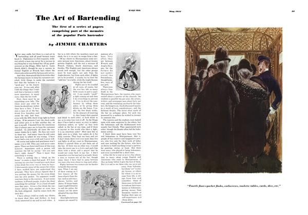 Article Preview: The Art of Bartending, MAY 1934 1934 | Esquire