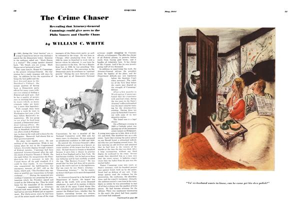 Article Preview: The Crime Chaser, MAY 1934 1934 | Esquire