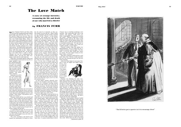 Article Preview: The Love Match, MAY 1934 1934 | Esquire