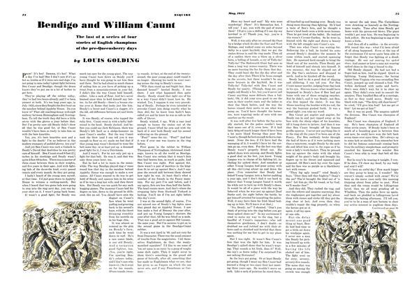 Bendigo and William Caunt