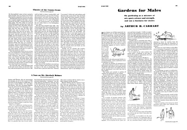 Article Preview: Gardens for Males, MAY 1934 1934 | Esquire