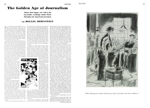 Article Preview: The Golden Age of Journalism, JUNE 1934 1934 | Esquire