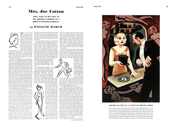 Article Preview: Mrs. Joe Cotton, JULY 1934 1934   Esquire