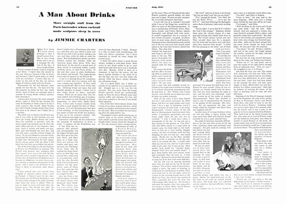 Article Preview: A Man About Drinks, JULY 1934 1934 | Esquire