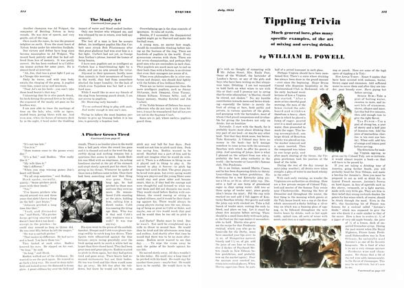 Article Preview: Tippling Trivia, JULY 1934 1934 | Esquire