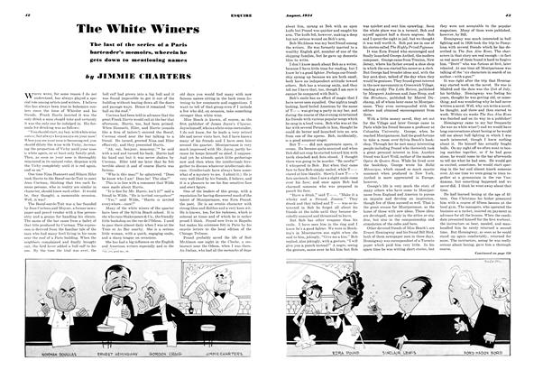 Article Preview: The White Winers, AUGUST 1934 1934 | Esquire