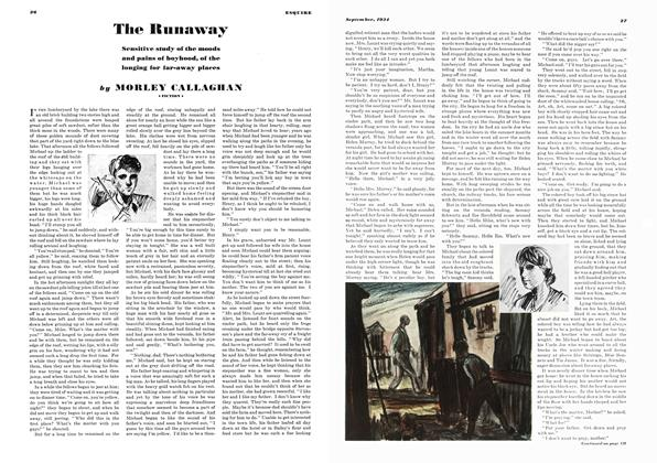 Article Preview: The Runaway, SEPTEMBER 1934 1934 | Esquire