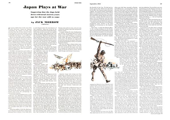 Japan Plays at War