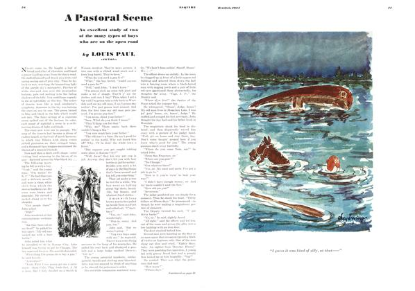 Article Preview: A Pastoral Scene, OCTOBER 1934 1934   Esquire