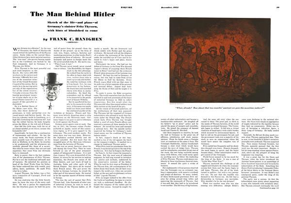 The Man Behind Hitler