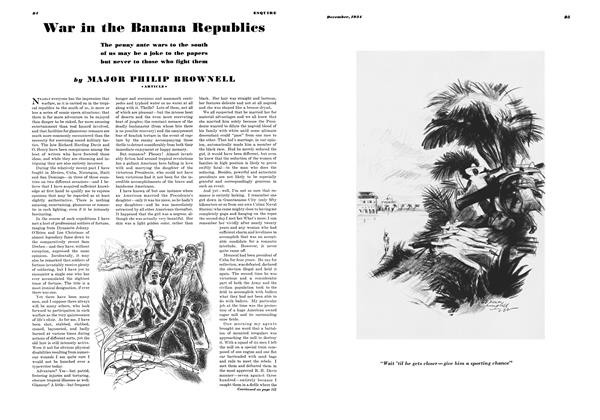 War in the Banana Republics