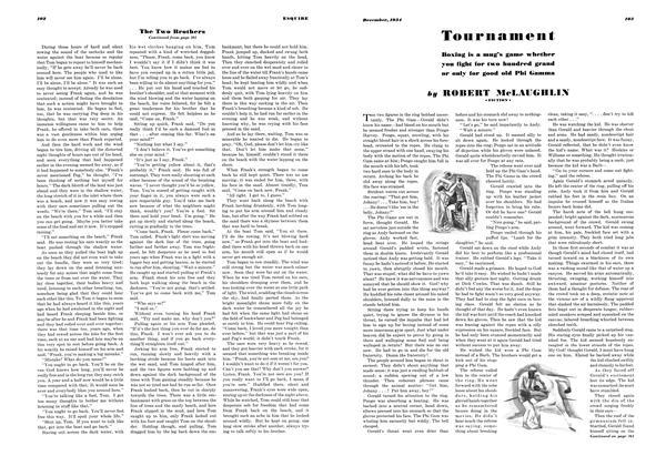 Article Preview: Tournament, DECEMBER 1934 1934 | Esquire