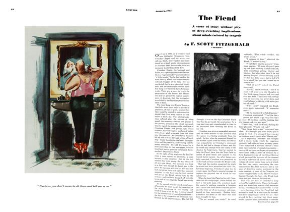 Article Preview: The Fiend, JANUARY 1935 1935 | Esquire