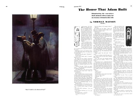 Article Preview: The House That Adam Built, JANUARY 1935 1935 | Esquire