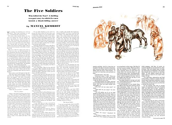 The Five Soldiers