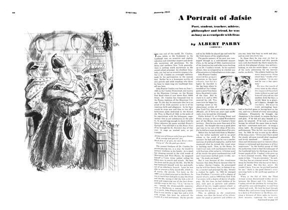 A Portrait of Jafsie